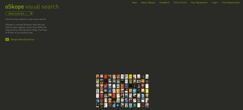 oSkope visual search